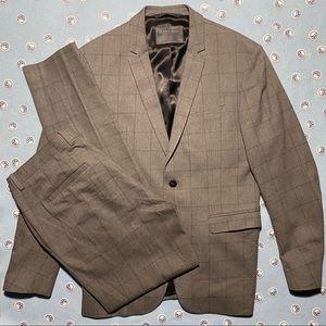 Zara Grey/Plaid Suit - Top20/Bottom34